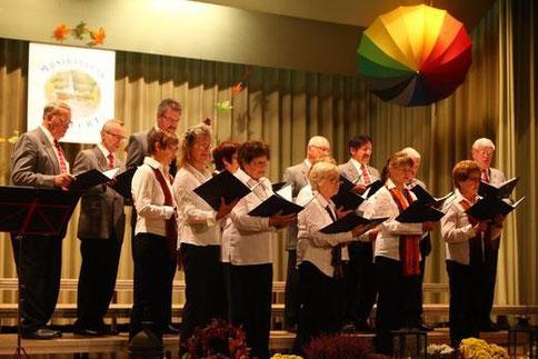 Beim Heufurter Liederabend - 2012