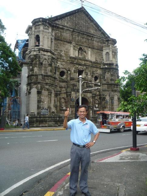 Nhà thờ Malate được xây dựng vào thế kỷ XVI. Manila. 9/2011