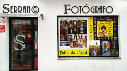 localización de Fotógrafo Serrano en Atarfe