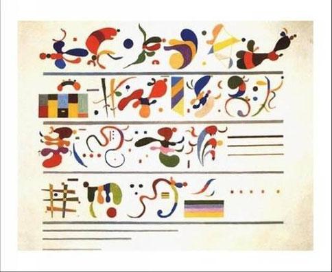 Kandinskij, Succession, 1935