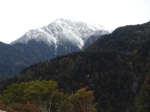 甲斐駒ヶ岳 雪化粧
