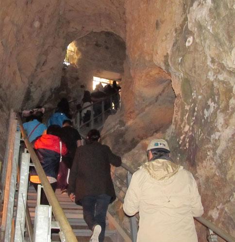 Современный выход из тунеля