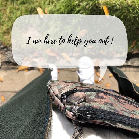軽くてストレスが軽減するお財布ショルダーバッグ