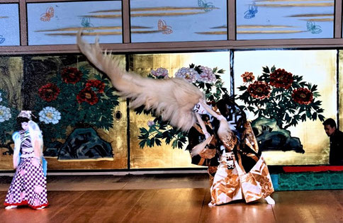 水木鶴升 水木流東京水木会 鏡獅子