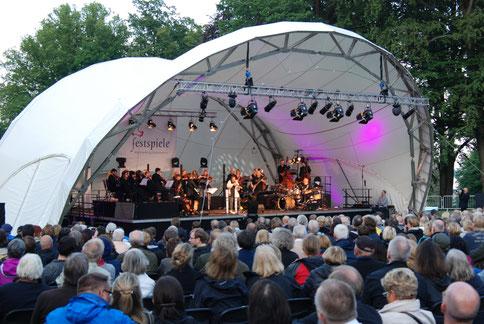 Nigel Kennedy, Bühne, Klassik Open Air, Open Air Bühne, Konzertmuschel, Open Air Konzert