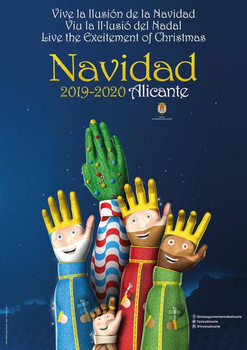 Horario y recorrido de la Cabalgata de Reyes de Alicante