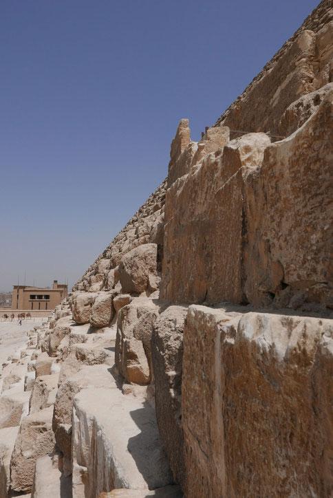 So leer wie es scheint, war es tatsächlich: die Pyramiden von Gizeh