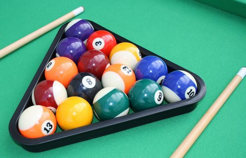 TABLE DE JEUX 3 EN 1 : Billard, Babyfoot et Air Hockey