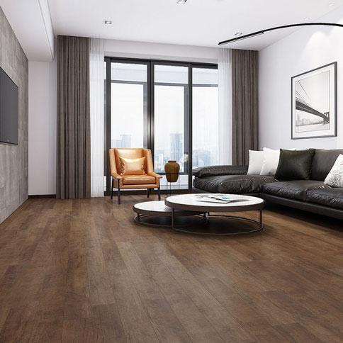 Laminate flooring Caruso Maple