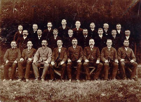 1898 - Fünf Jahre nach Gründung am 08.Mai