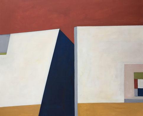Farbräume 1, Acryl, 90 x 110 cm, 2018