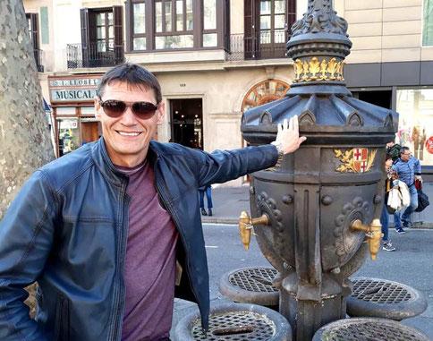 Фонтан Каналетес в Барселоне. Фонтаны Барселоны