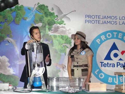 Presentan proceso del Tetrapak