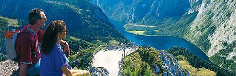 Blick vom JENNER Berchtesgaden