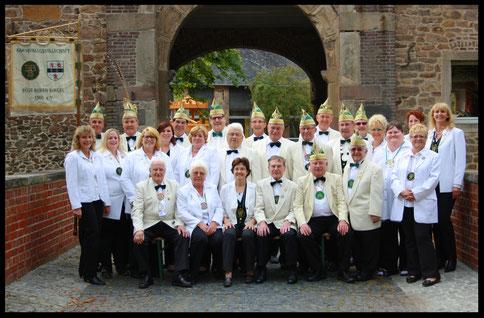 Weißröcke in der Jubiläumssession 2014/2015