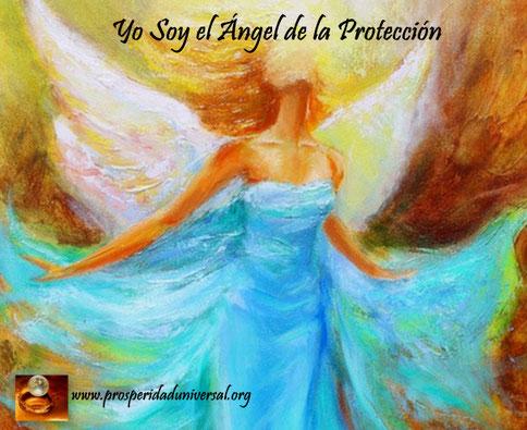 ángeles de la luz dinina - prosperidd universal - yo soy el ángel de la proteccion