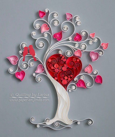 quilling, quilling art, paper, paper art, design. wall art, quilling wall art, love tree, artwork, quilling tree,  квиллинг, бумага, дизайн