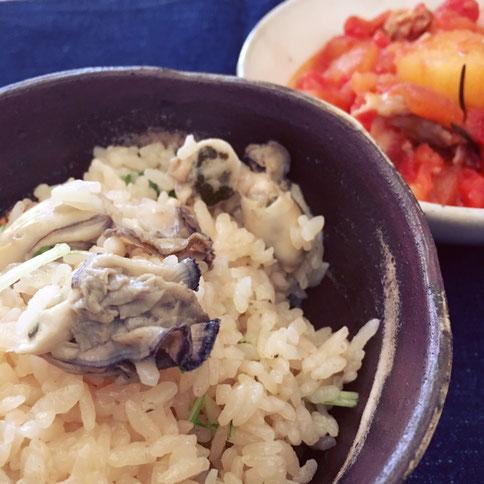牡蛎ご飯 牡蛎 土鍋 御飯用二重蓋土鍋 茨城県笠間市 陶芸家 ブログ