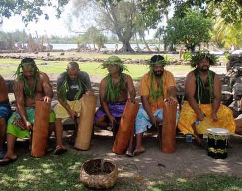 tambours polynésiens