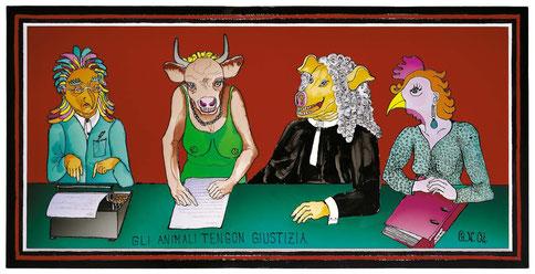 Gli animali tengon giustizia