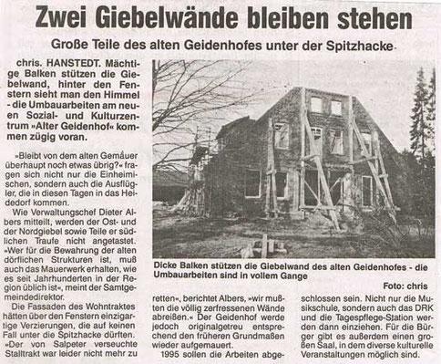 Nordheide Wochenblatt Februar 1994
