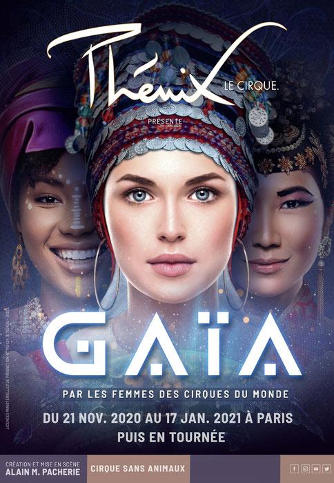 Cirque PHENIX Paris Spectacle de Noel Gaya pour les groupe et les CSE