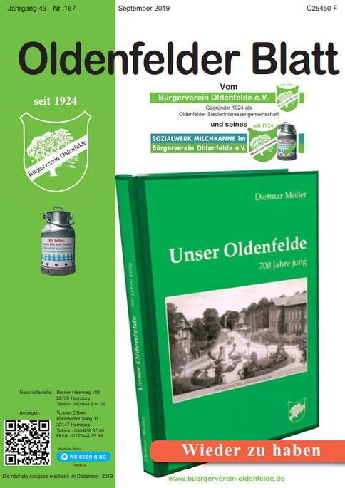Oldenfelder Blatt Nr. 167