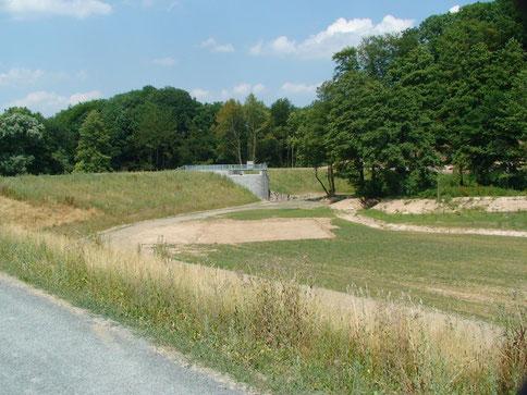 2010 ging das Becken am Steinbach in Betrieb