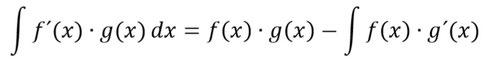 Formel der partiellen Integration