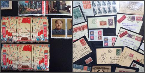 vente spéciale de collections de timbres France Europe Monde