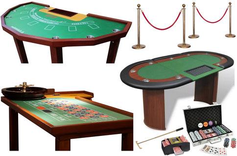 Casino Spieltische mieten bei roulettetisch.ch