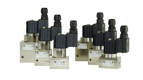 Gasventile der Baureihe 135 bis 350 bar / Series 135 solenoid valves for up to 350 bar