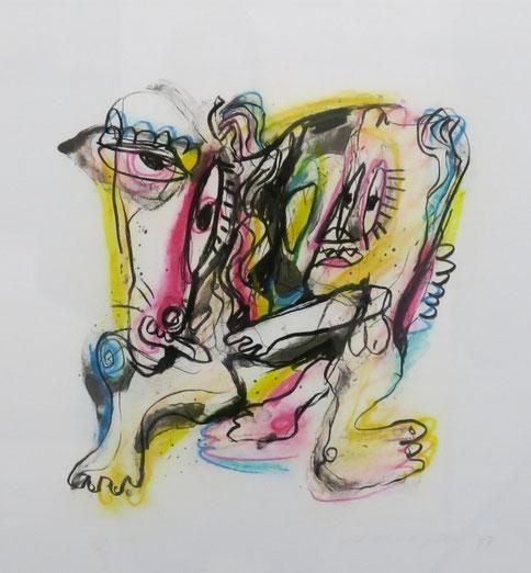 te_koop_aangeboden_een_zeefdruk_van_henk_vierveijzer_1950_moderne_abstracte_kunst