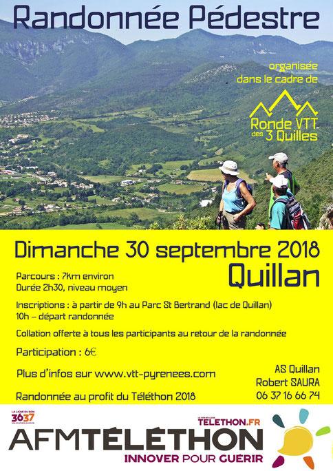 Randonnée pédestre Quillan