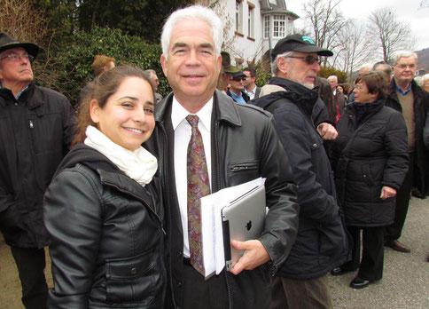 David und Tamara Rosenfeld - Foto: Hormes