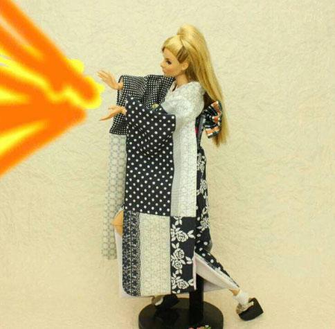 Fashion Royalty 着物,FR kimono,ファッションローヤリティ 和服
