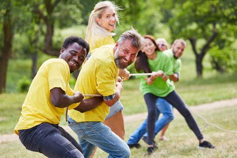Teamerlebnisse die verbinden und die Motivation steigern - bei Teenevent