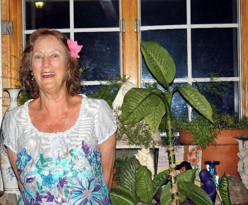 Josephine's daughter ; Ann Ross at her Myrtle Beach home, 2017.