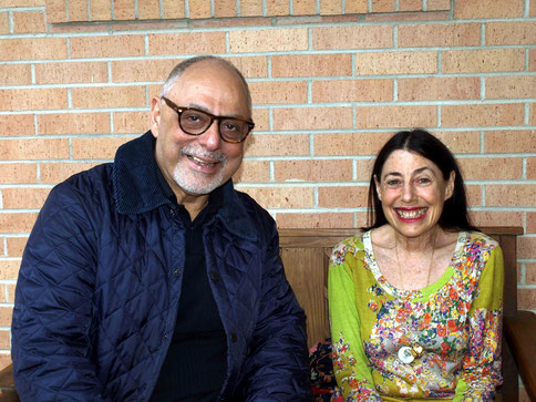 March 2015 : Laurie with Naosherwan Anzar at Dilruba, Meher Center, Myrtle Beach, SC.