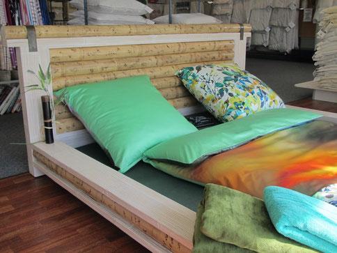 Südseefeeling garantiert - mit diesem Bett von Hightouch