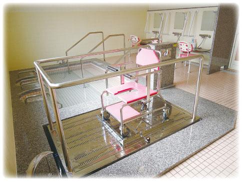 車椅子入浴装置 特浴