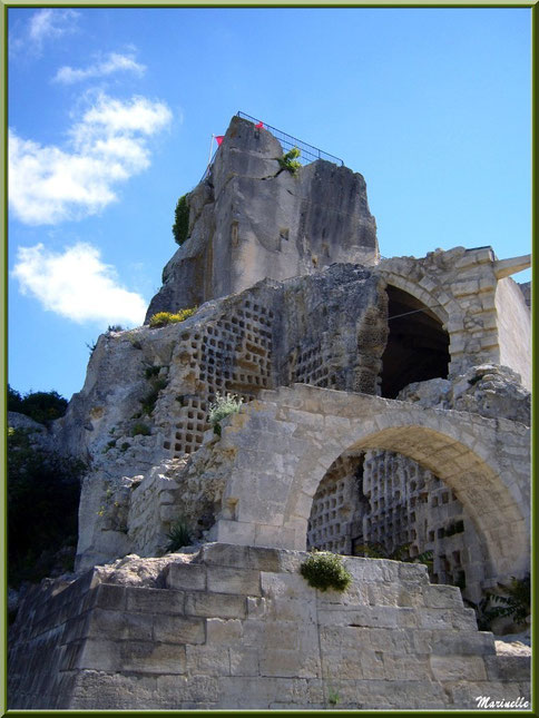 Le pigeonnier, Château des Baux-de-Provence, Alpille (13)
