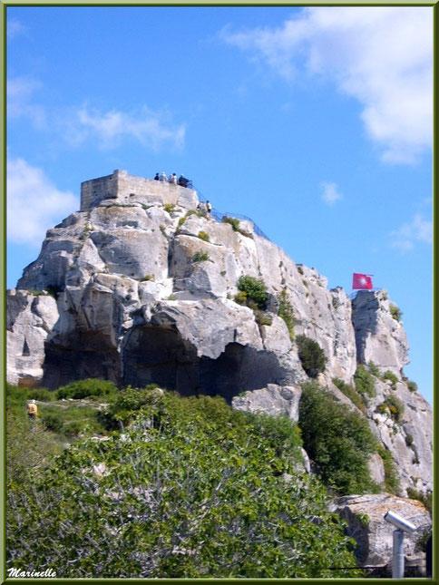 Tour Sarrasine, Château des Baux-de-Provence, Alpille (13)