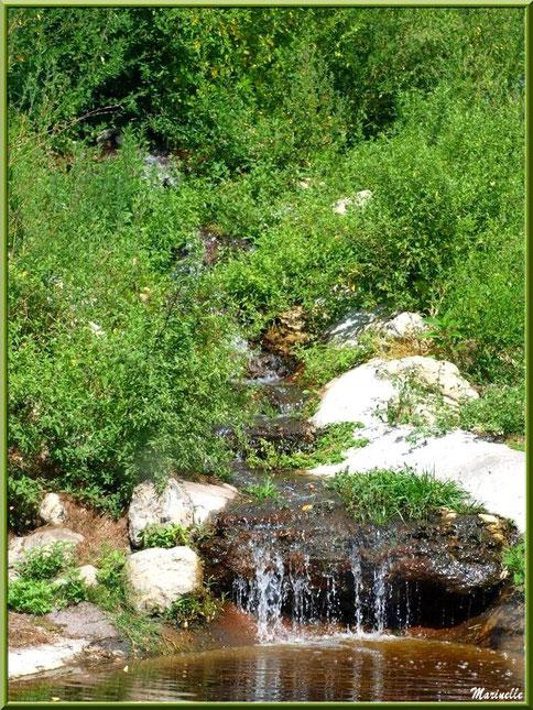 Petite cascade, Zoo du Bassin d'Arcachon, La Teste de Buch (33)