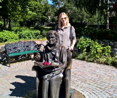 Stockholm Sweden ofpenguinsandelephants Djurgarden Junibacken Astrid Lindgren