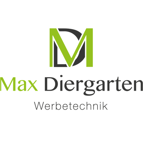 Logo Max Diergarten Werbetechnik