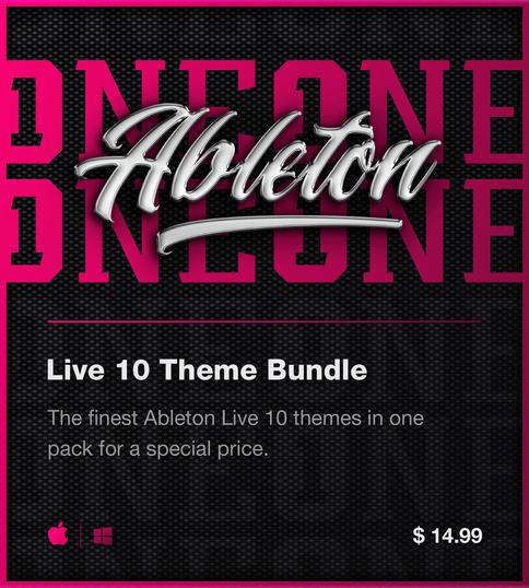 Ableton Live 10 Premium Theme/Skin Bundle