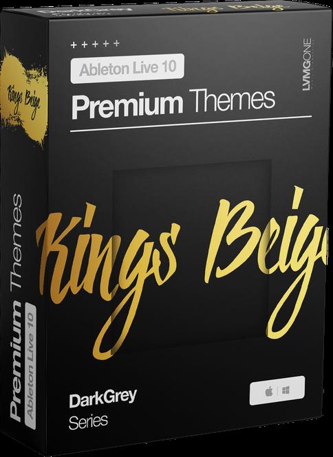 Premium Ableton Live 10 Theme/Skin KingsBeige