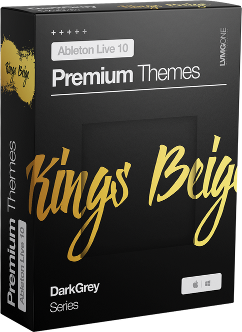 Ableton Live 10 theme KingsBeige Software Box