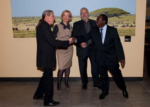 Serengeti Ausstellung im BMZ Berlin